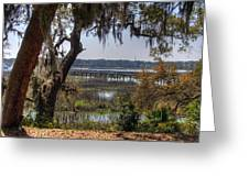 Hilton Head Scenic Greeting Card by Keith Wood