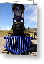 Historic Jupiter Steam Locomotive Greeting Card by Gary Whitton