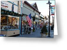 Historic Niles District In California Near Fremont . Main Street . Niles Boulevard . 7d10701 Greeting Card by Wingsdomain Art and Photography