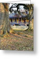 Historic Plantation Slave Quarters Greeting Card by Jeremy Woodhouse