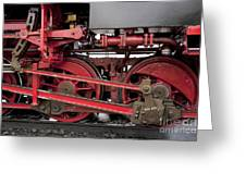Historical Steam Train Greeting Card by Heiko Koehrer-Wagner
