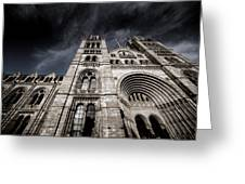 History Nights Greeting Card by Jez C Self