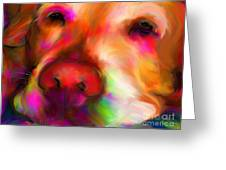 Hobie Greeting Card by Suzanne Batchelor