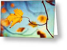Holding On Greeting Card by Darren Fisher