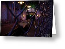 Hollywood Studio's - Rock N Roller Coaster Greeting Card by AK Photography