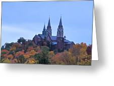 Holy Hill Greeting Card by Kristine Bogdanovich
