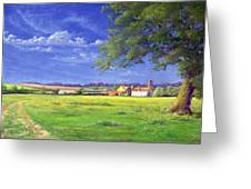 Home Field Greeting Card by Anthony Rule