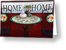 Home Sweet Home Greeting Card by Jeff Lowe