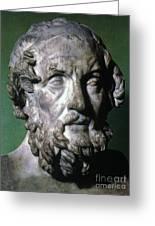 Homer (9th-8th Century B.c.) Greeting Card by Granger