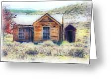 Homestead 3 Greeting Card by Cheryl Young