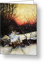 Homeward Bound Greeting Card by Andrew Read