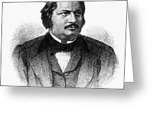 HONORE de BALZAC (1799-1850) Greeting Card by Granger