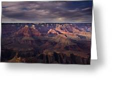 Hopi Point Greeting Card by Andrew Soundarajan