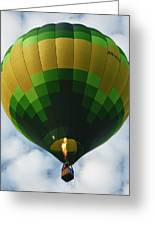 Hot Air Balloon Greeting Card by Zoe Ferrie