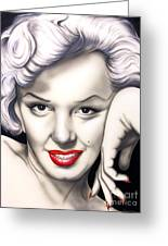 Hot Lips Greeting Card by Bruce Carter
