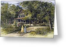 House, 19th Century Greeting Card by Granger