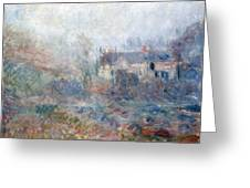 House at Falaise Greeting Card by Claude Monet