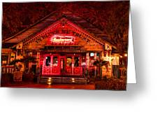 House Of Blues Greeting Card by Paul Bartoszek