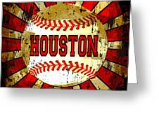 Houston Greeting Card by David G Paul