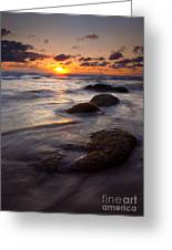 Hug Point Tides Greeting Card by Mike  Dawson