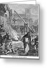 Huguenots: Persecution Greeting Card by Granger