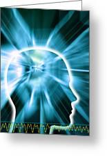 Human Consciousness Greeting Card by Pasieka