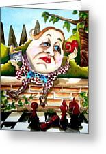 Humpty Dumpty Greeting Card by Lucia Stewart