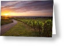 Hunawihr Alsace Greeting Card by Brian Jannsen