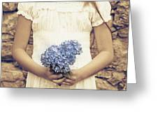 hydrangea Greeting Card by Joana Kruse