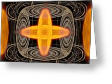 Hydrogen Fusion Greeting Card by Joe Halinar