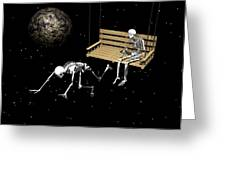 I Am Leaving You Greeting Card by Claude McCoy