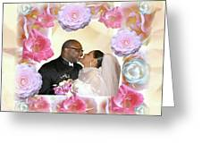 I Pronounce You Husband And Wife Greeting Card by Terry Wallace