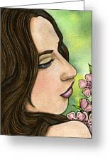 I Remember Greeting Card by Nora Blansett