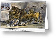 Ignatius Of Antioch (c35-110) Greeting Card by Granger