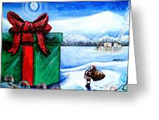 I'm Going To Need A Bigger Sleigh Greeting Card by Shana Rowe