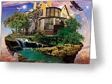 Imagination Home Greeting Card by Kenal Louis