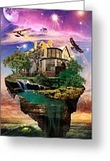 Imagination Home Greeting Card by Pierre Louis