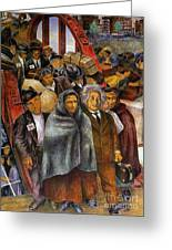 Immigrants, Nyc, 1937-38 Greeting Card by Granger