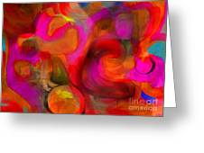 Implications Greeting Card by D Perry