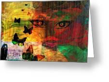 In Paradis Greeting Card by Fania Simon