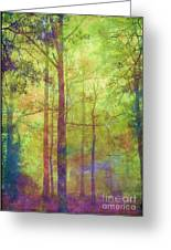 In The Forest Greeting Card by Judi Bagwell