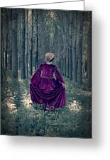 In The Woods Greeting Card by Joana Kruse
