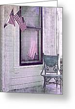 Independence Day Greeting Card by Susan Lee Giles
