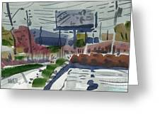 Industrial Park Two Greeting Card by Donald Maier