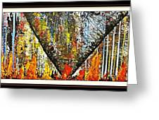 Inferno 2 Greeting Card by Robert Anderson