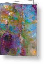 Infinite Tranquility Greeting Card by Johnathan Harris