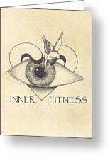 Inner Fitness Greeting Card by Jack Edwards
