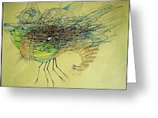 Insect Greeting Card by Paulo Zerbato