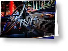 Inside Chevy Greeting Card by Lori Frostad