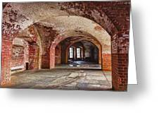 Inside The Walls Greeting Card by Garry Gay
